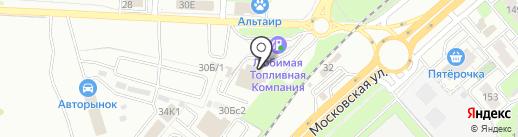 Сервис Авто-Л на карте Липецка