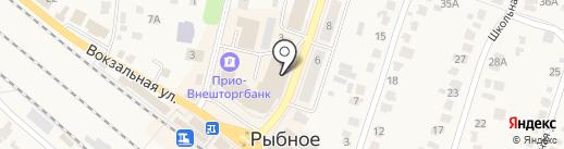 Магазин товаров для детей на карте Рыбного