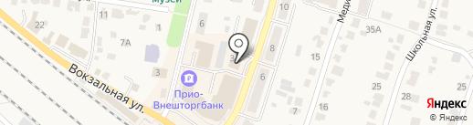 М. Арт на карте Рыбного