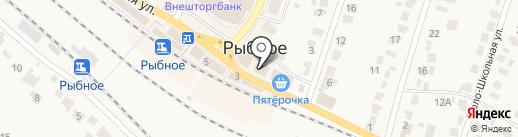 Магазин игрушек на карте Рыбного
