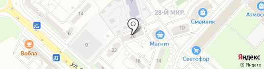 Малыш & Школяр на карте Липецка