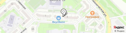 L`studio на карте Липецка