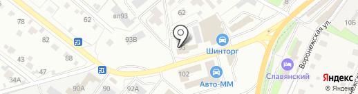 ТРАК-Сервис на карте Липецка