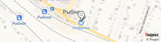 Русский фейерверк на карте Рыбного