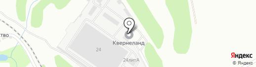 Посейдон на карте Липецка