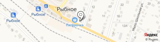 Рыбновский учебный спортивно-технический центр на карте Рыбного