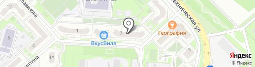 Липецккомбанк на карте Липецка