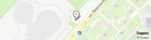 Сэйла на карте Липецка