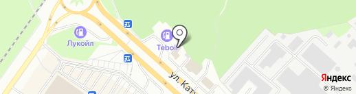 Gett на карте Липецка