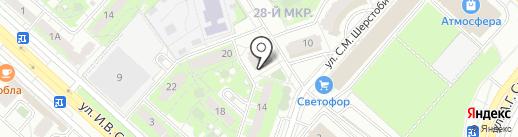 Артфарм на карте Липецка