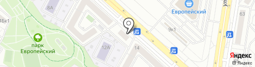 Камень 48 на карте Липецка