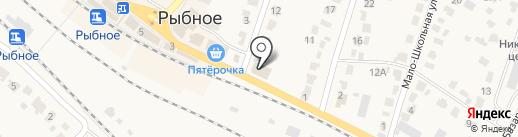 Магазин строительных и отделочных материалов на карте Рыбного