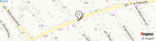 Банкомат, КБ Центр-инвест, ПАО на карте Чалтыря