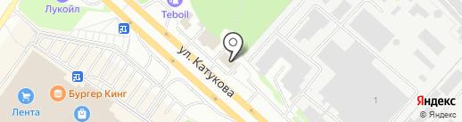 Магазин автозапчастей для иномарок на карте Липецка