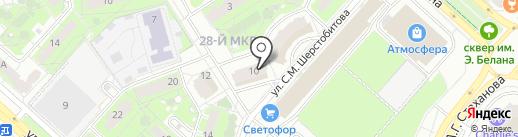 Текстиль град на карте Липецка