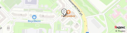 Бонтон на карте Липецка