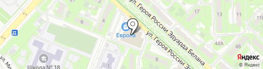 Арт-Fly на карте Липецка