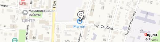 Магнит на карте Рыбного
