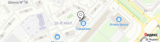 Центр рекламных услуг на карте Липецка