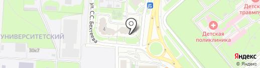 Аверс-Н на карте Липецка