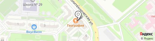 Шарм на карте Липецка