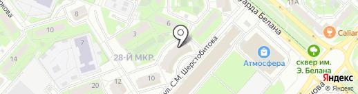 Строймедсервис на карте Липецка