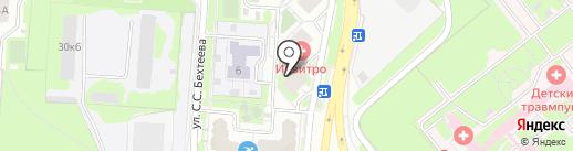 Супермаркет детских автокресел на карте Липецка