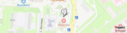 Sтиль на карте Липецка