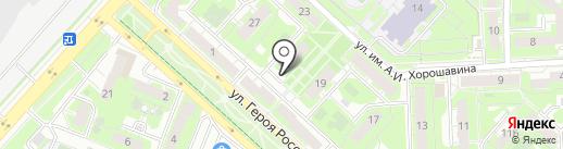 Фабрика движения на карте Липецка