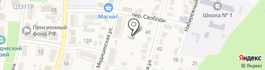 Детский сад №4 на карте Рыбного