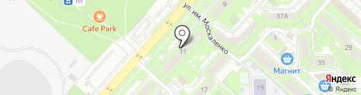 Адвокатский кабинет Хорохорина Р.В. на карте Липецка
