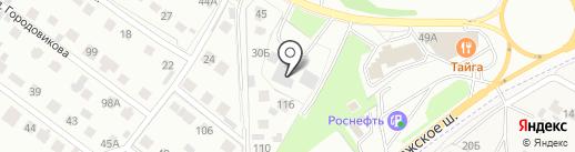 AvtoSeven на карте Липецка