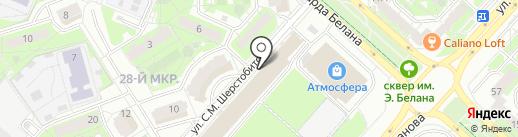 МЕБЕЛЬДОРФ на карте Липецка
