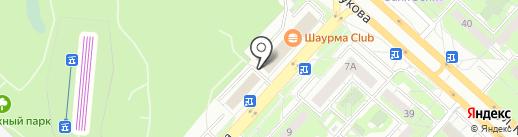 Горизонт на карте Липецка