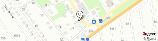 ВОЛОГОДСКИЙ ЛЕС на карте Липецка