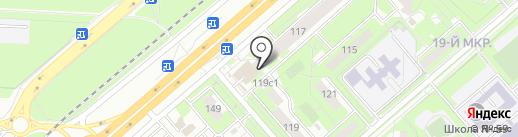Библиотечно-информационный центр национальных культур на карте Липецка