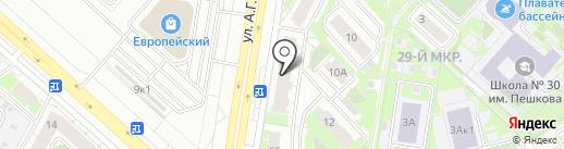 Автоямал на карте Липецка