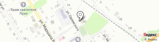 Шахтинский на карте Липецка