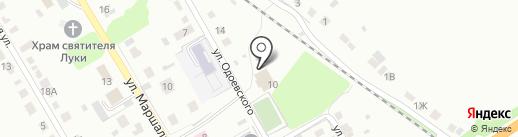 Почтовое отделение №48 на карте Липецка