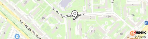 Лакомка на карте Липецка