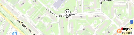 Агроцентр на карте Липецка