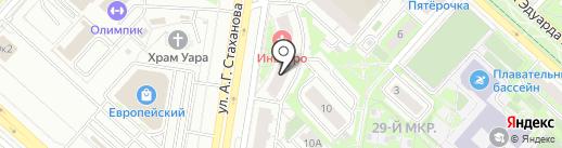 СлонМебель на карте Липецка