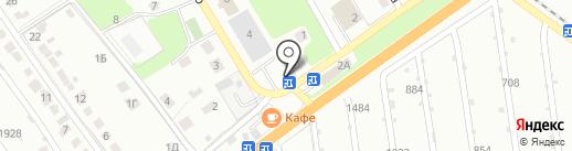 Айка на карте Липецка