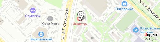 Клевер Авто на карте Липецка