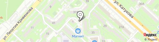 Софья на карте Липецка