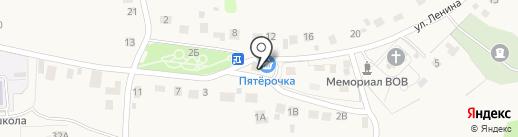 Магазин товаров повседневного спроса в с. Ленино на карте Лениного