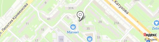 ЖЭУ №6/10 на карте Липецка