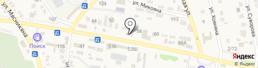 Магазин оптики на карте Чалтыря