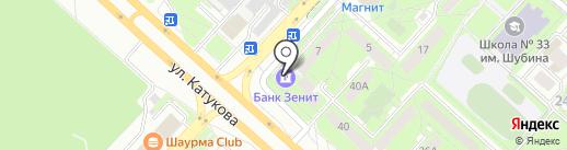 Банкомат, Липецккомбанк, ПАО на карте Липецка