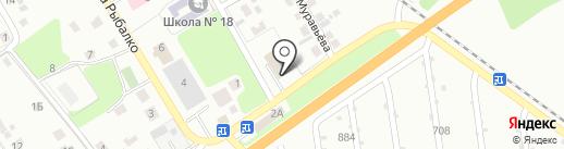 Склад-магазин на карте Липецка